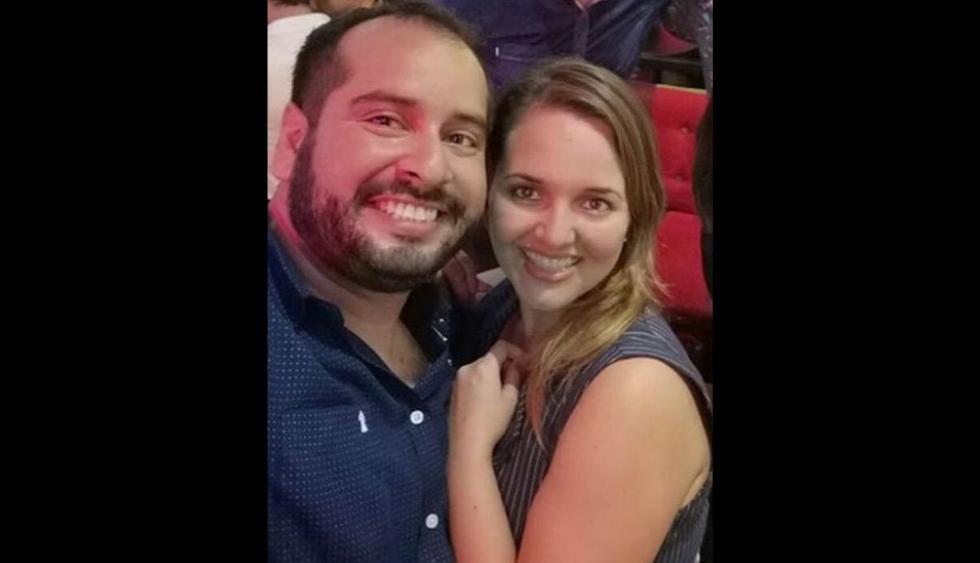 Carla Tello y Junior Silva