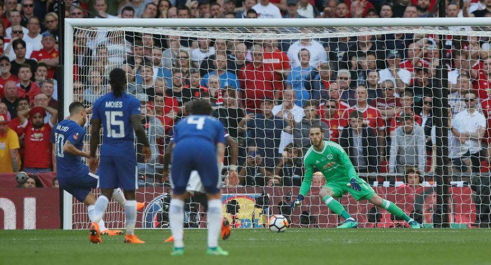 Manchester United vs Chelsea Con Alexis Sánchez en Wembley por la final de Copa FA