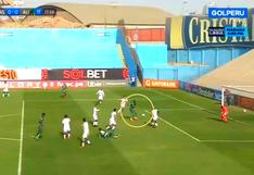Jefferson Farfán se comió gol al 'estilo Corozo' ante Alianza Atlético [VIDEO]