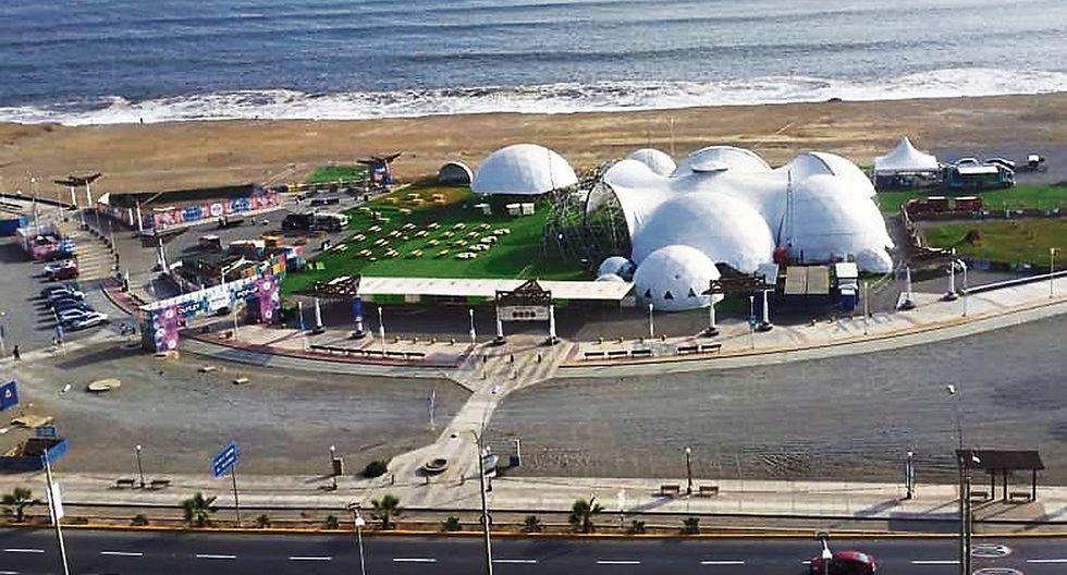 Fan Fest de la final de la Copa Libertadores será en el Domos Art de la Costa Verde.