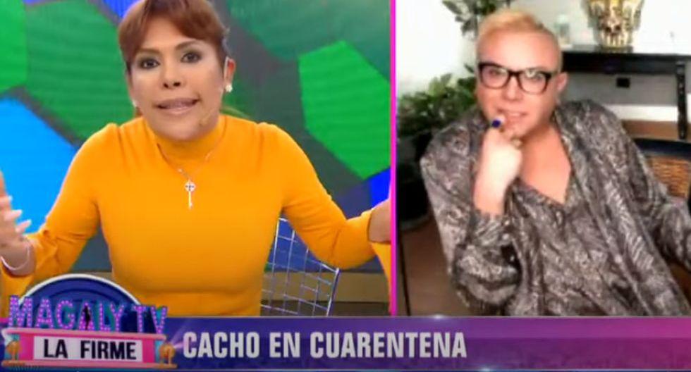 Magaly Medina se vuelve tendencia por curioso titular durante enlace con Carlos Cacho | TROME