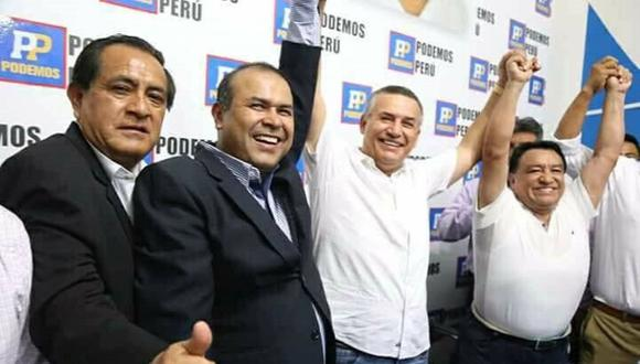 Daniel Urresti fue candidato municipal y ahora candidato al Congreso por el partido fundado por José Luna Gálvez. (Foto: Andina)