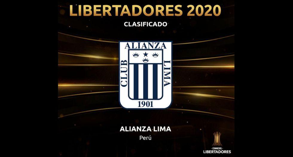 Alianza Lima ganó y clasificó a la Copa Libertadores 2020 y Conmebol le dedicó esta llamativa publicación