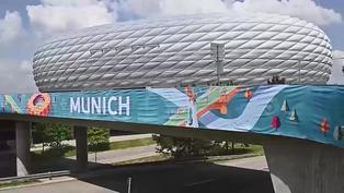 Múnich se prepara para acoger los partidos de Alemania en la Eurocopa