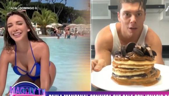 Paula Manzanal afirmó que 'se está conociendo' con Ignacio Baladán. (Captura Magaly TV)