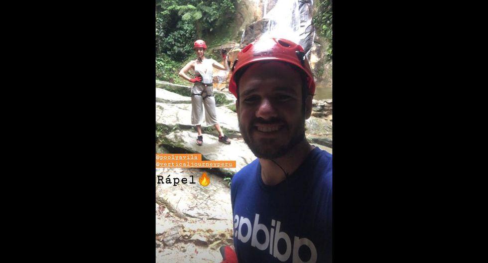 Poly Ávila y periodista deportivo Michael Succar disfrutan su romance en Tarapoto. Foto: Instagram