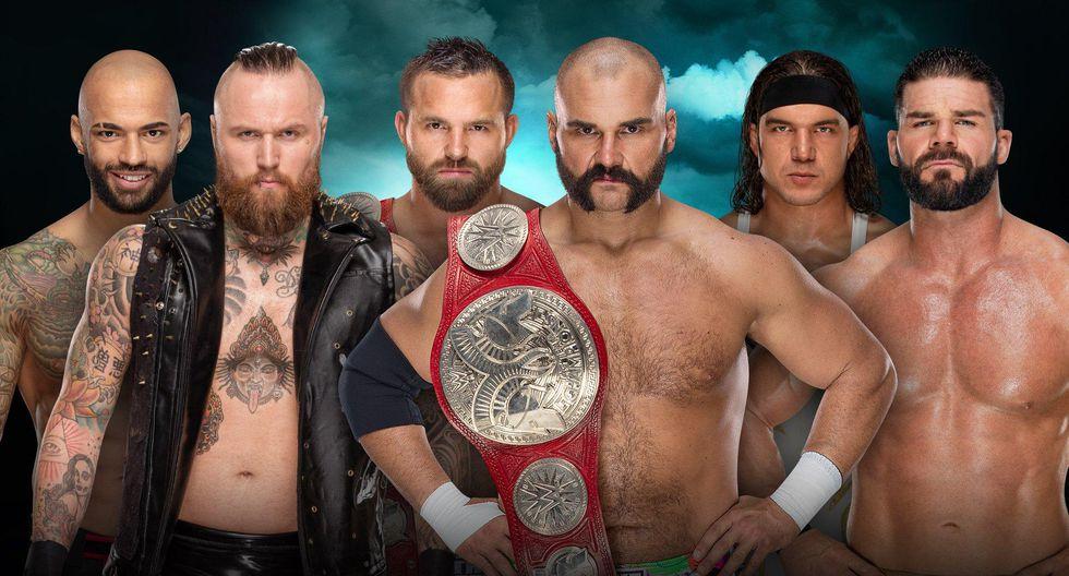 Las figuras de NXT, Ricochet y Aleister Black buscarán los títulos en pareja de RAW ante The Revival y Bobby Roode con Chad Gable.