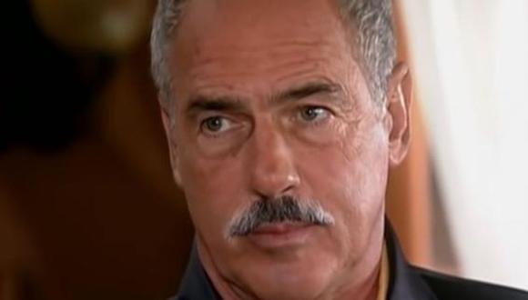 El actor reveló por qué dejó fuera de su herencia a su hija Andrea (Foto: Telemundo)