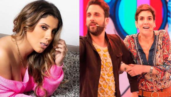 'Peluchín' y Gigi Mitre revelaron algo sobre la entrevista a Yahaira Plasencia. (Instagram/Willax)