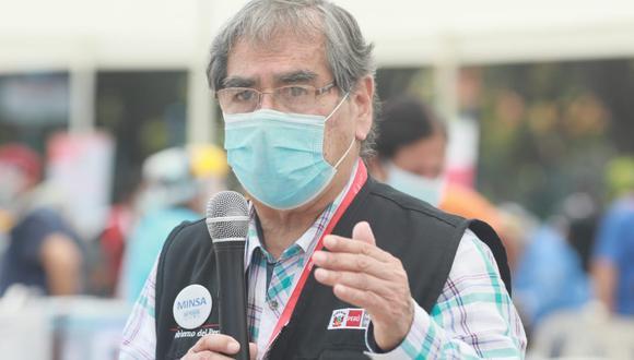 El ministro de Salud, Óscar Ugarte, aseguró Gobierno de Transición y Emergencia seguirá trabajando en la lucha contra la pandemia del COVID-19 hasta el último día de gestión. (Foto: GEC)