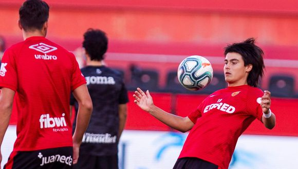 Luka Romero debutó en LaLiga con tan solo 15 años de edad. (Foto: AFP)
