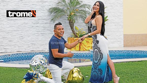 Edwin Sierra y Pilar Gasca más enamorados que nunca, (Foto: César Bueno /TROME)