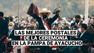 Mira las mejores imágenes de la ceremonia simbólica en la pampa de Ayacucho