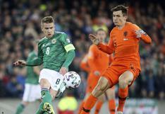 Holanda empató 0-0 con Irlanda del Norte y clasificó a la Eurocopa 2020