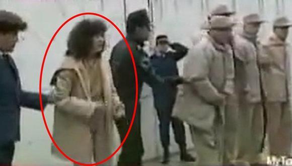 María del Rocío fue la única mujer recluida en la cárcel de máxima seguridad de Almoloya de Juárez luego de que fuese arrestada junto al capo mexicano en Guatemala. (Captura de video)