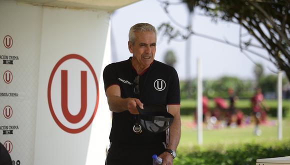 DT de Universitario hace un mea culpa tras la dura derrota ante Deportivo Municipal   FOTO: JESUS SAUCEDO OLORTEGUI / GEC