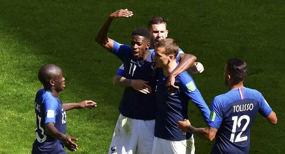 Francia vs Australia 2-1 Video Goles Resumen y mejores jugadas en Rusia 2018   FOTOS