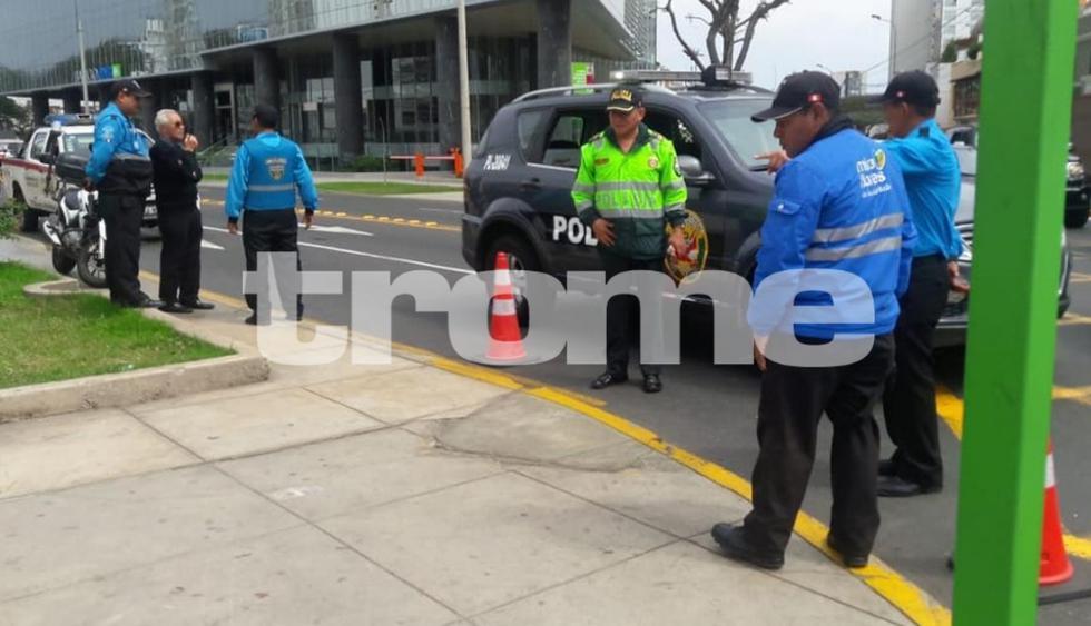 Balacera en Miraflores dejó dos cambistas heridos tras violento asalto. (Fotos: Trome)