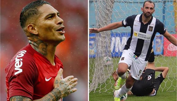 Hernán Barcos se refirió a la posible llegada de Paolo Guerrero a Alianza Lima. (Foto: EFE/Liga 1)