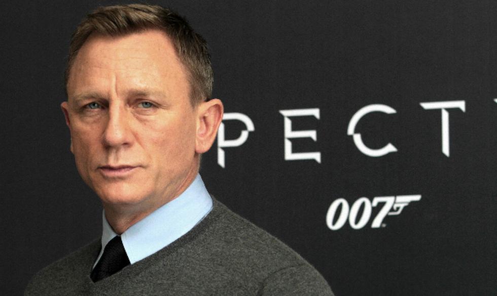 Daniel Craig está harto de interpretar de James Bond. Foto: AFP