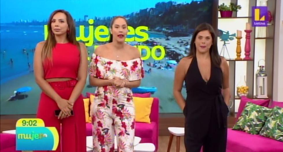 """Cathy Sáenz no apareció en """"Mujeres Al Mando"""". (Foto: Captura de video)"""