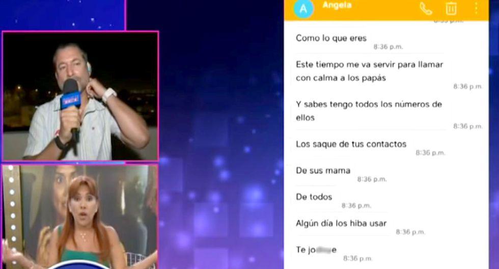 Ex de la mamá de Ximena Hoyos revela chats para hundirla pero quedó peor | TROME