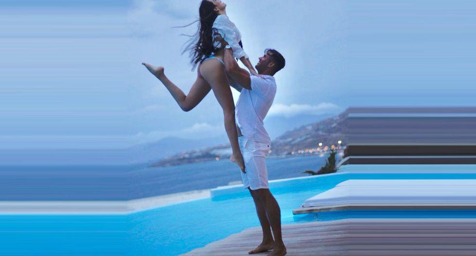 El modelo se lució muy enamorado de Mayra Goñi en redes. (Foto: Instagram)