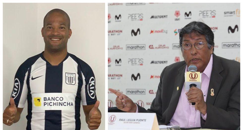 Raúl Leguía calificó a Alberto Rodríguez de no tener ética. (Foto: Alianza Lima /  GEC)