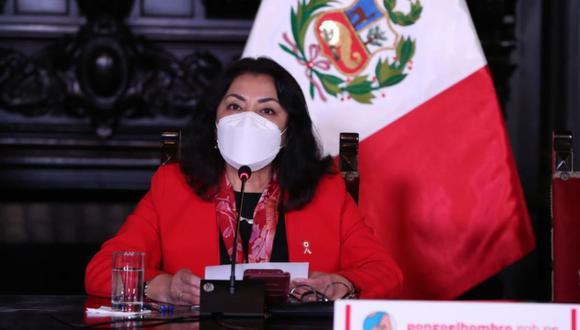 La titular de la PCM, Violeta Bermúdez,  brindará una conferencia de prensa este miércoles. (Foto: PCM)