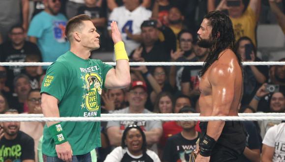 John Cena regresó a WWE, al final de Money in the Bank. (Foto: WWE)