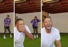 "Will Smith ""pierde"" los dientes mientras juega golf junto a Jason Derulo 