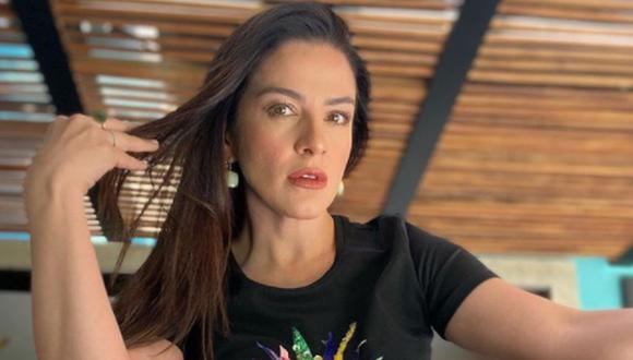 La también actriz dijo que aprendió a vivir con la muerte de su pequeña hija. (Foto: Lidia Álvarez / Instagram)