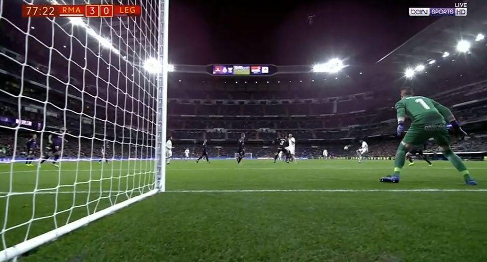 Real Madrid vs Leganés: Gol Vinicius (Fuente: bein Sports)