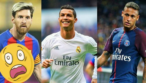 Neymar dijo que Cristiano Ronaldo es el espejo en el que hoy se mira