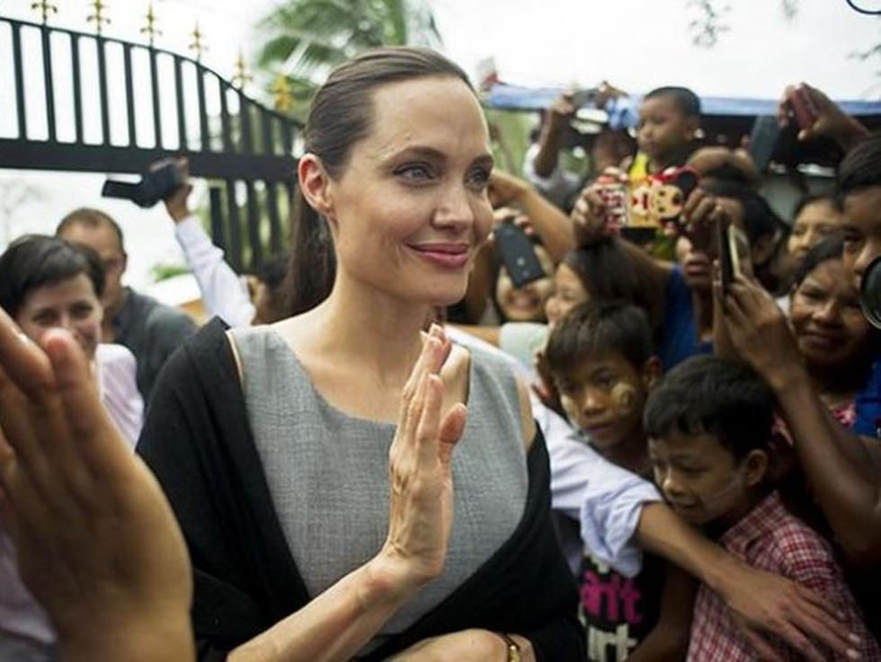 Angelina Jolie y su nueva película First they killed my father: a daughter of Cambodia remembers.