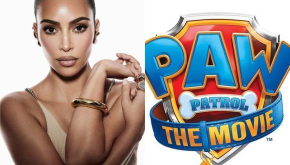 'Paw Patrol: The Movie' tendrá a Kim Kardashian como la voz de una nueva cachorra que compartirá con 'Ryder' y sus amigos. (Foto: @kkwfragrance @pawpatrolmovie / Instagram)