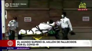 El mundo superó el millón de fallecidos por COVID-19