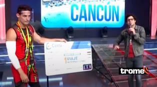 Facundo González venderá pasaje que ganó en EEG y donará el dinero a los afectados por las marchas