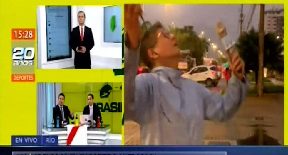 Erick Osores se alocó en vivo y lanzó frase humillante e insolente a colega por opinar del Perú vs Brasil
