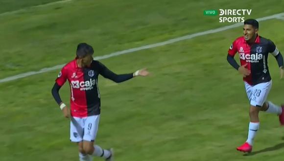 Othoniel Arce también asistió en el 1-0