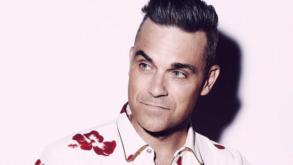 Robbie Williams lanza su nueva producción The heavy entertainment show.