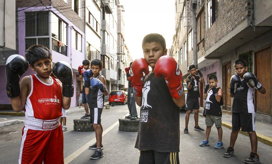taller boxeo niños