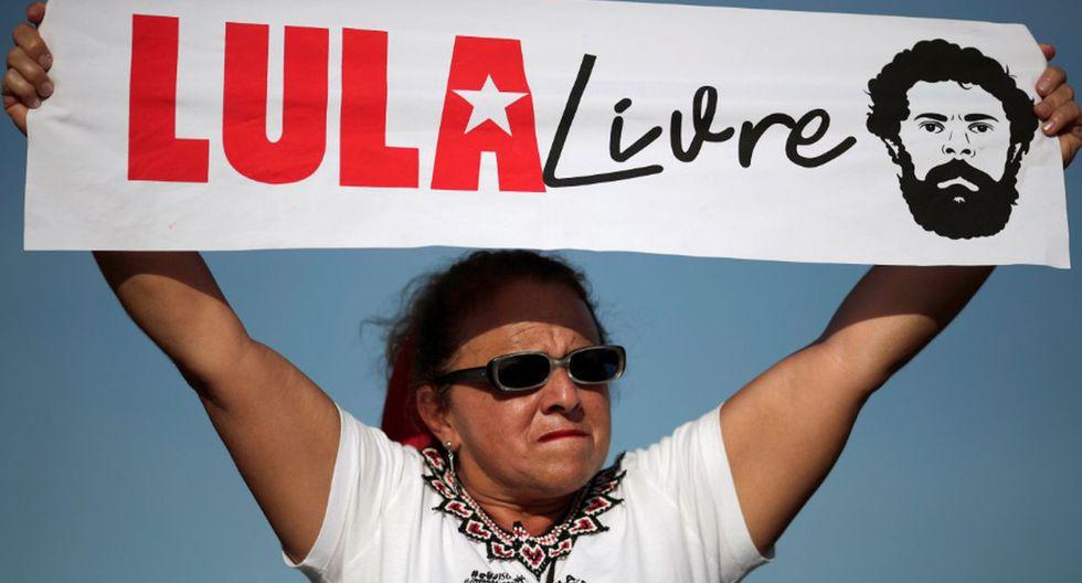 Lula da Silva salió en libertad tras pasar 580 días en prisión. (Foto: Agencias)