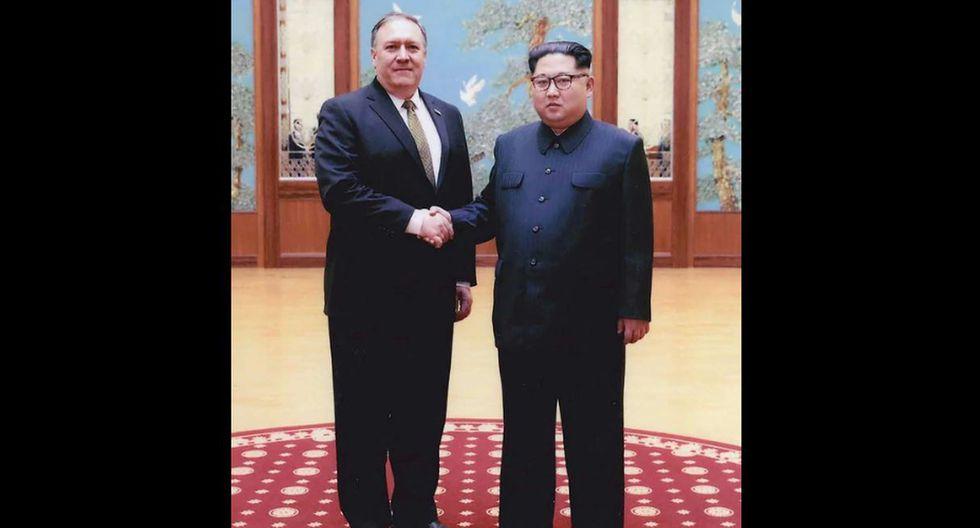 Kim Jong-un y Mike Pompeo se reunieron. (Fotos: @whitehouse)