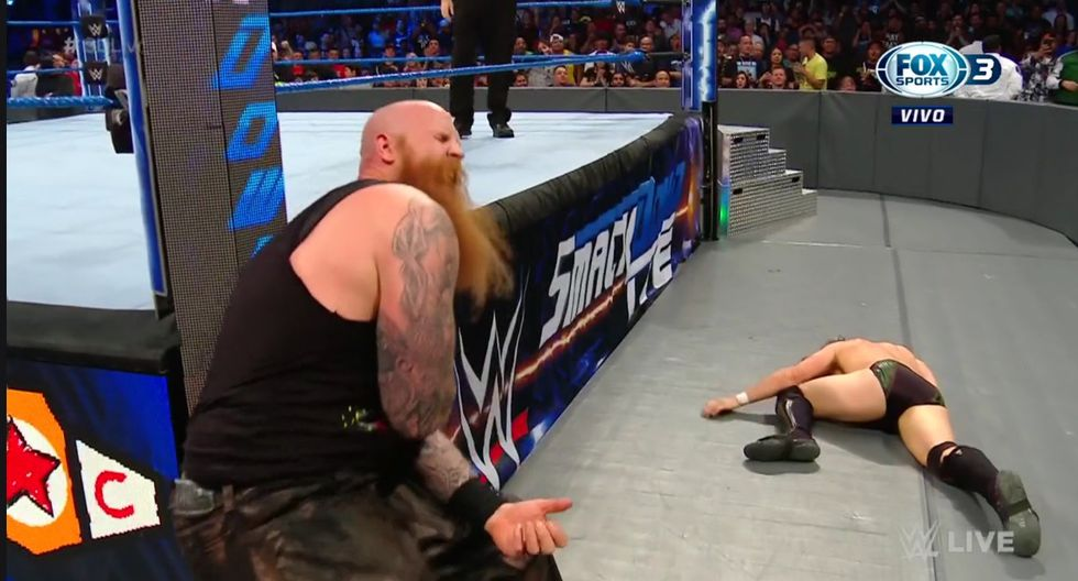 (WWE/ Captura Fox Sports 3)