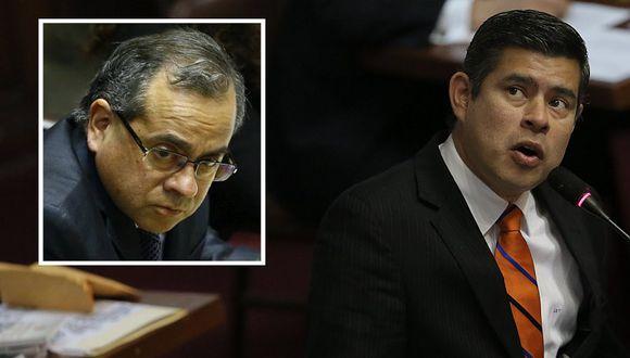 Parlamentario fujimorista arremetió contra ministro de Educación.