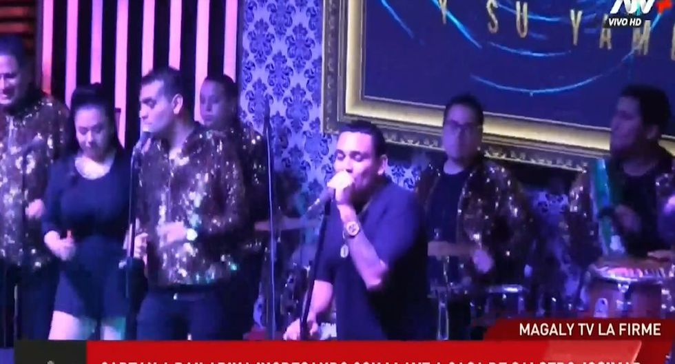 Josimar fue 'troleado' por Koky Belaunde en pleno concierto. (Capturas: ATV)