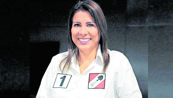 Monica Saavedra es la número '1' de Acción Popular. (Foto: Difusión )