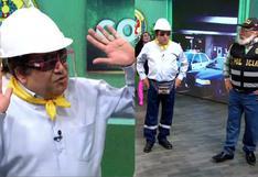Carlos Vílchez fue el 'ingeniero bailarín' en divertido segmento de JB en ATV