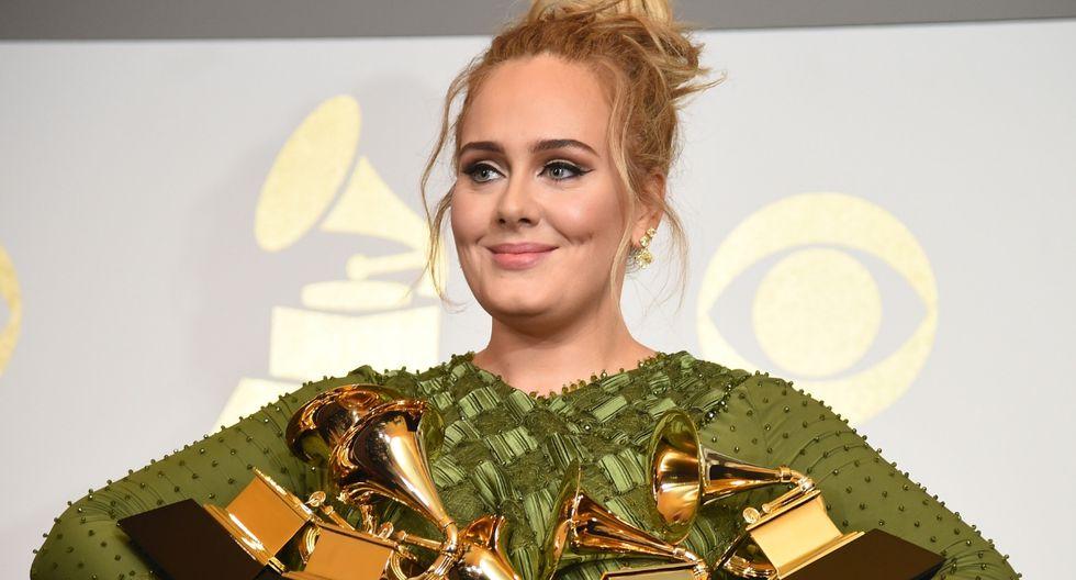 Adele sorprende a fanáticos al rapear un tema de Nicki Minaj (Foto: AFP)